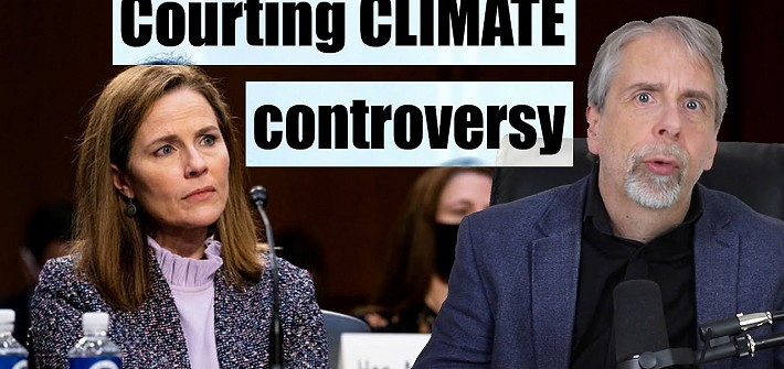 Courting climate controversy