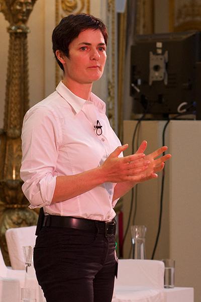 Ellen MacArthur speaking