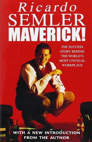Cover of Semler's book Maverick