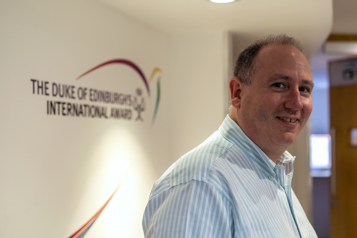 John May, Secretary General of the Duke of Edinburgh's International Award
